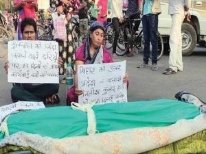 India: Outrage after Muslim woman 'burnt alive by molester'