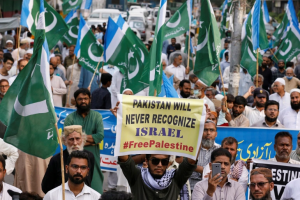 Pakistan to UAE: Can't recognise Israel until Palestine resolved