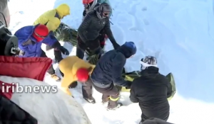 Iran: At least 11 climbers killed after heavy snowfall