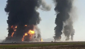 Gas tanker explodes near Iran-Afghan border