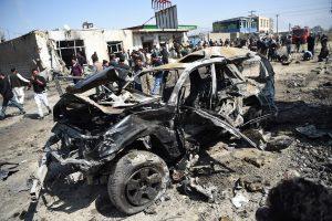 Afghan bomb kills at least 8; UN slams high civilian deaths