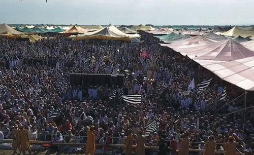 جشن صدسالگی «جمعیت علمای اسلام» در پاکستان آغاز شد