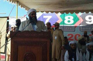متن سخنرانی مولانا عبدالغنی بدری در گردهمایی بزرگ جمعیت علمای اسلام پاکستان