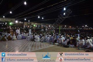مراسم ختم قرآن کریم مسجد جامع مکی زاهدان برگزار شد