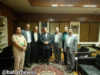 دیدار جمعی از فعالان اهلسنت با وزیر صنعت