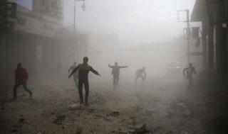 حمله هوایی به غوطه دمشق ۲۳ کشته برجای گذاشت
