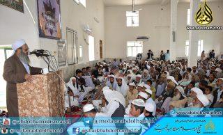 اظهار نگرانی مولانا عبدالحمید از وضعیت آموزشی در بعضی از مناطق بلوچستان