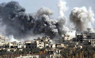 حمله شیمیایی به غوطه شرقی صدها کشته و زخمی برجا گذاشت