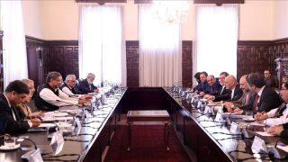 دیدار نخستوزیر پاکستان با رئیسجمهور افغانستان در کابل