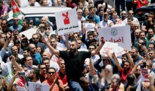 بالا گرفتن اعتراضات ضد دولتی در اردن