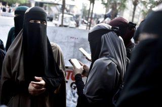 تظاهرات در دانمارک علیه ممنوعیت حجاب