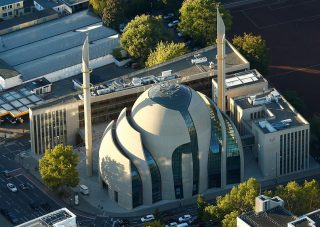 افتتاح یکی از بزرگترین مساجد اروپا در آلمان