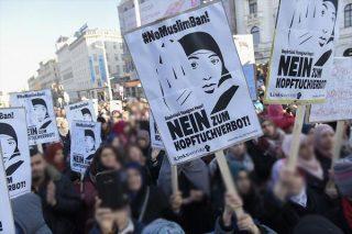 اعتراض به طرح قانون ممنوعیت حجاب در مدارس اتریش
