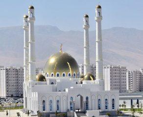 افتتاح مسجد حضرت عمَر رضیاللهعنه در ترکمنستان