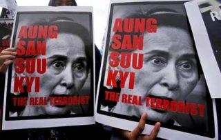سازمان عفو بینالملل مدال اعطایی خود به آنگ سان سوچی را پس میگیرد