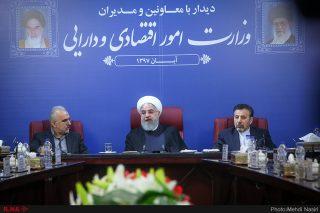 واکنش روحانی به تحریمهای جدید آمریکا علیه ایران