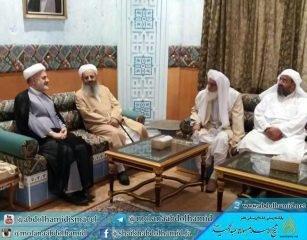 دیدار شیخالاسلام مولانا عبدالحمید با سفیر ایران در عمان