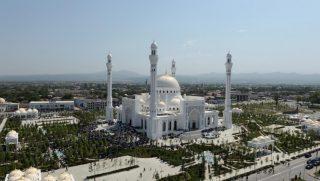 بزرگترین مسجد اروپا در جمهوری چچن افتتاح شد