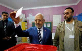 پیشتازی حزب اسلامی النهضة در انتخابات پارلمانی تونس