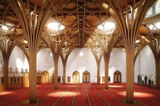 افتتاح مسجد کمبریج؛ نخستین مسجد دوستدار محیط زیست اروپا در انگلیس