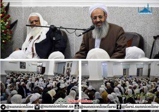 نشست هماندیشی علمای زاهدان و حومه برگزار شد