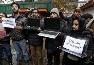 انتقاد دادگاه عالی هند از قطع طولانیمدت اینترنت در کشمیر