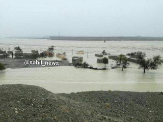 گزارشی از اوضاع سیل و طغیان سدها و رودخانهها در جنوب سیستانوبلوچستان