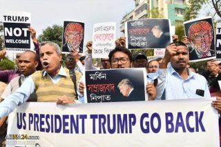 پنج کشته در تظاهرات علیه قانون شهروندی در دهلی همزمان با سفر ترامپ به هند