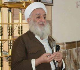 درگذشت یکی از علمای برجستۀ اهل سنت عراق