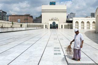 نگاهی به بزرگترین مسجد بنگلادش+عکس