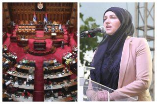راهیابی نماینده زن مسلمان به مجلس صربستان