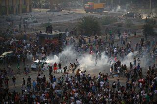تظاهرات ضد دولتی در بیروت