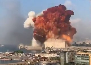 انفجار بیروت؛۱۰۰ کشته و حدود ۴ هزار زخمی