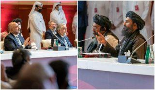ابراز امیدواری هیئتهای مذاکرهکننده طالبان و دولت افغانستان به روند مذاکرات