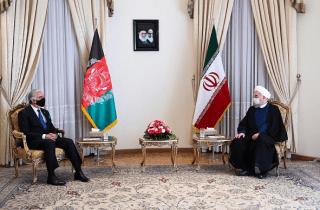 """روحانی: """"مذاکرات بینالافغانی"""" راه حل مشکلات افغانستان است"""