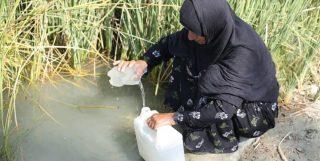 شهرستان «بشاگرد» و مشکل آب آشامیدنی مردم در جوار یکی از بزرگترین سدهای خاورمیانه