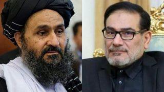 دیدار هیئت طالبان با دبیر شورای عالی امنیت ملی ایران