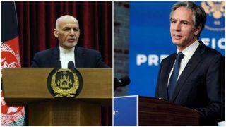 نامه تند وزیر خارجه آمریکا به اشرف غنی: در مورد صلح و آینده سیاسی افغانستان اقدام فوری شود