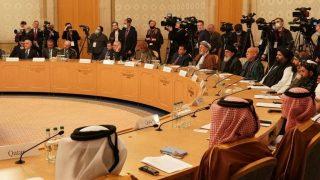 نشست مذاکرات صلح افغانستان در مسکو برگزار شد
