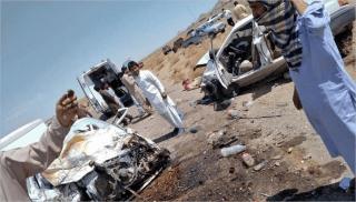 تصادف مرگبار در محور فرعی زاهدان-خاش