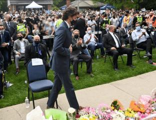 نخستوزیر کانادا کشتار خانواده مسلمان را «حمله تروریستی» و «عملی شیطانی» خواند