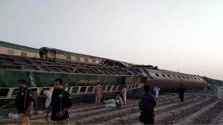 برخورد دو قطار در جنوب پاکستان دهها کشته و زخمی بر جا گذاشت