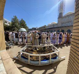 مراسم تشییعجنازۀ مولانا خدارحم رودینی رحمهالله برگزار شد