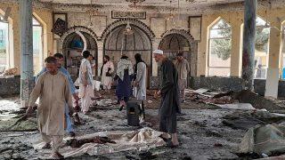 انفجار مرگبار در یکی از مساجد در ولایت قندوز افغانستان