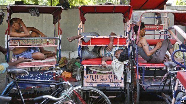 بھارت میں گرمی سے ہلاکتوں کی تعداد 1100 سے بڑھ گئی