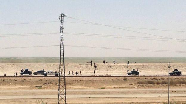 عراقی شہر رمادی پر 'دولتِ اسلامیہ نے قبضہ کر لیا'