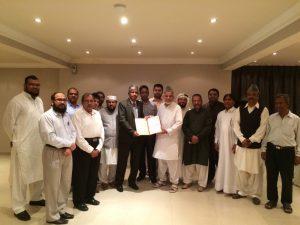 قطر کی قدیم ترین اردو ادبی تنظیم بزمِ اردو قطر کے زیرِ اہتمام