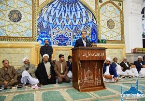 جامع مسجد مکی میں 'سیرت و اتحاد' کانفرنس منعقد ہوگئی