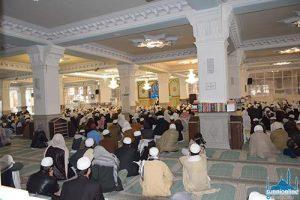 مولانا سلیم اللہ خان کی یاد میں دارالعلوم زاہدان میں تعزیتی تقریب