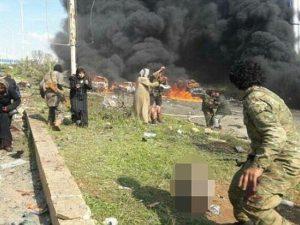 شام کے شہر حلب میں خودکش حملہ، 100 افراد ہلاک